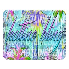 Drake 1 800 Hotline Bling Double Sided Flano Blanket (large)
