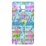 Drake 1 800 Hotline Bling Galaxy Note 4 Back Case Front