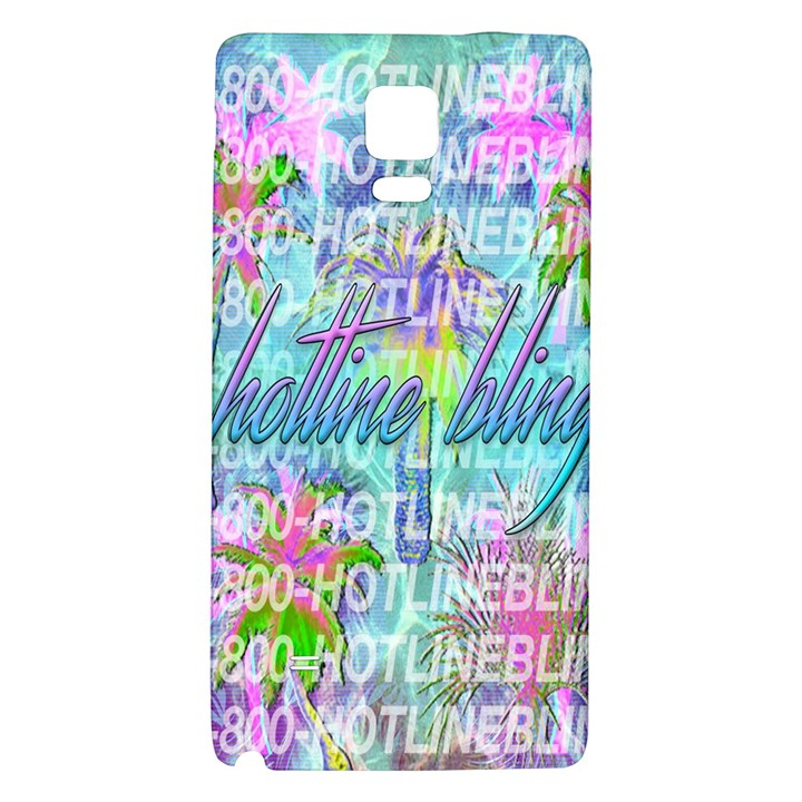 Drake 1 800 Hotline Bling Galaxy Note 4 Back Case