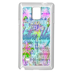 Drake 1 800 Hotline Bling Samsung Galaxy Note 4 Case (white)