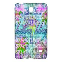 Drake 1 800 Hotline Bling Samsung Galaxy Tab 4 (7 ) Hardshell Case