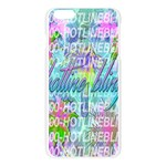 Drake 1 800 Hotline Bling Apple Seamless iPhone 6 Plus/6S Plus Case (Transparent) Front