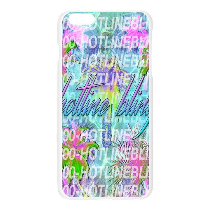 Drake 1 800 Hotline Bling Apple Seamless iPhone 6 Plus/6S Plus Case (Transparent)