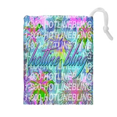 Drake 1 800 Hotline Bling Drawstring Pouches (Extra Large)