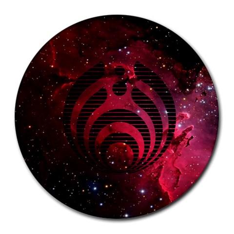 Bassnectar Galaxy Nebula Round Mousepads