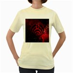 Bassnectar Galaxy Nebula Women s Yellow T-Shirt Front