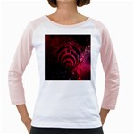Bassnectar Galaxy Nebula Girly Raglans Front
