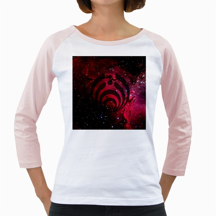 Bassnectar Galaxy Nebula Girly Raglans