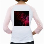 Bassnectar Galaxy Nebula Girly Raglans Back
