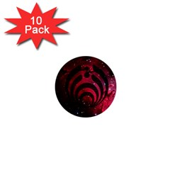 Bassnectar Galaxy Nebula 1  Mini Buttons (10 pack)