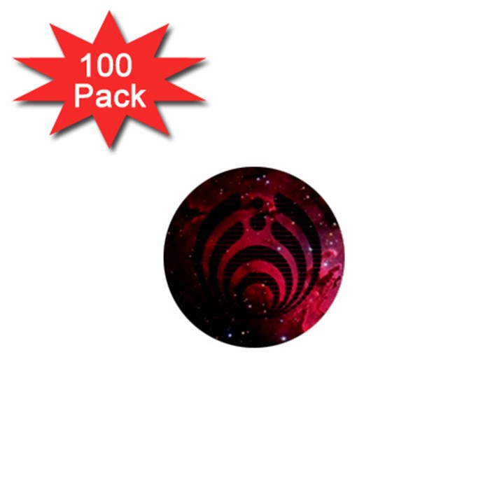 Bassnectar Galaxy Nebula 1  Mini Buttons (100 pack)