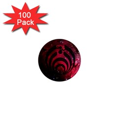 Bassnectar Galaxy Nebula 1  Mini Magnets (100 Pack)