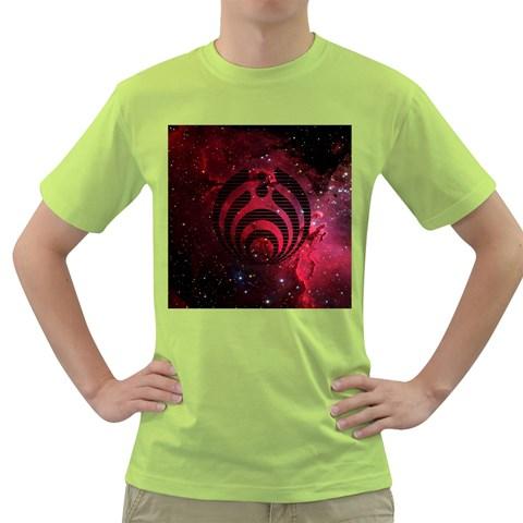 Bassnectar Galaxy Nebula Green T-Shirt