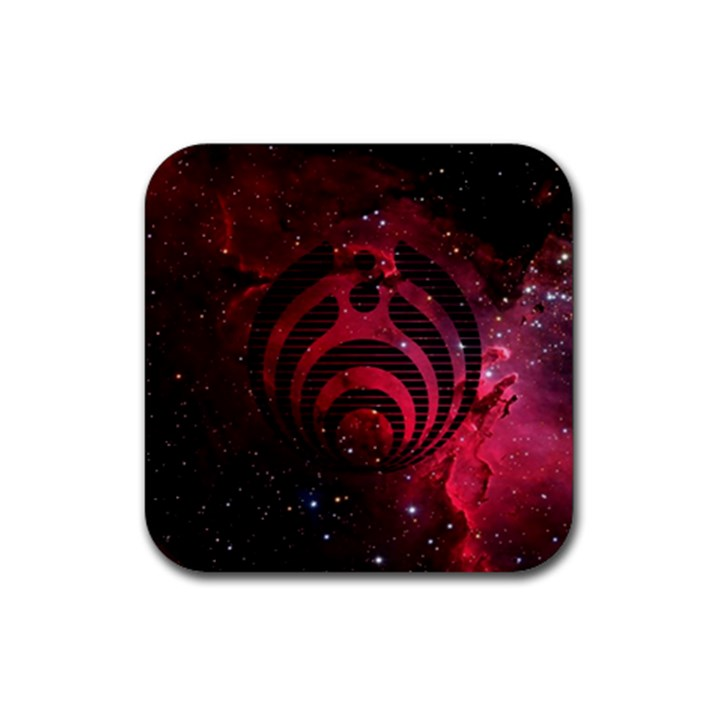 Bassnectar Galaxy Nebula Rubber Square Coaster (4 pack)