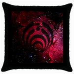 Bassnectar Galaxy Nebula Throw Pillow Case (Black) Front