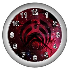 Bassnectar Galaxy Nebula Wall Clocks (Silver)