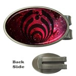 Bassnectar Galaxy Nebula Money Clips (Oval)  Front