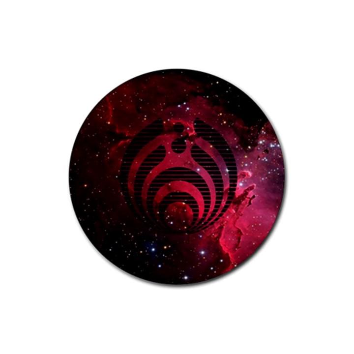 Bassnectar Galaxy Nebula Rubber Round Coaster (4 pack)