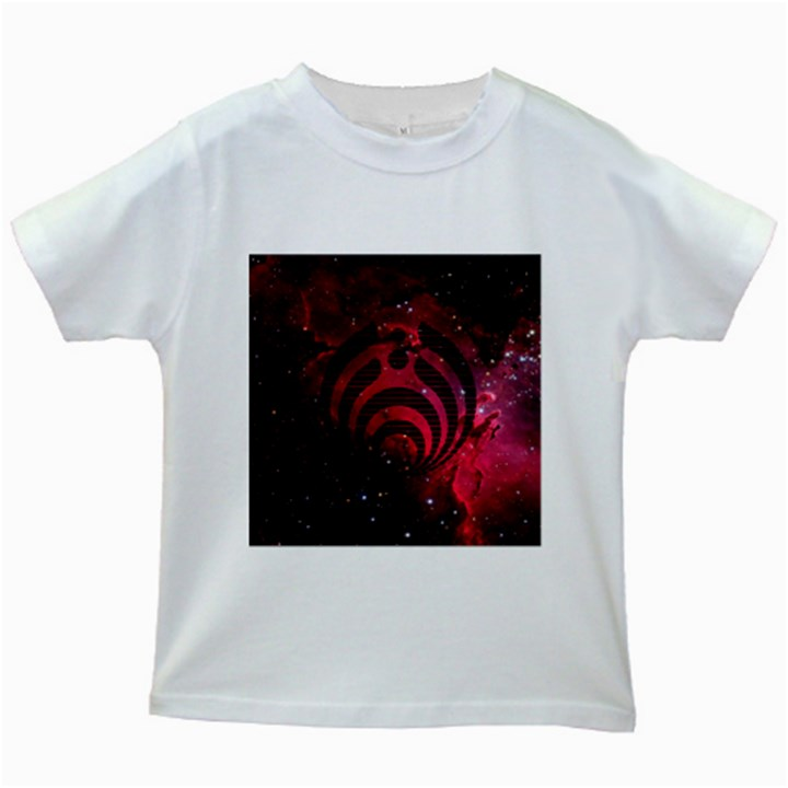 Bassnectar Galaxy Nebula Kids White T-Shirts