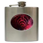 Bassnectar Galaxy Nebula Hip Flask (6 oz) Front