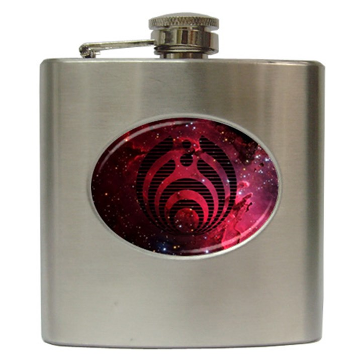 Bassnectar Galaxy Nebula Hip Flask (6 oz)