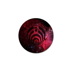 Bassnectar Galaxy Nebula Golf Ball Marker