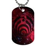 Bassnectar Galaxy Nebula Dog Tag (Two Sides) Back