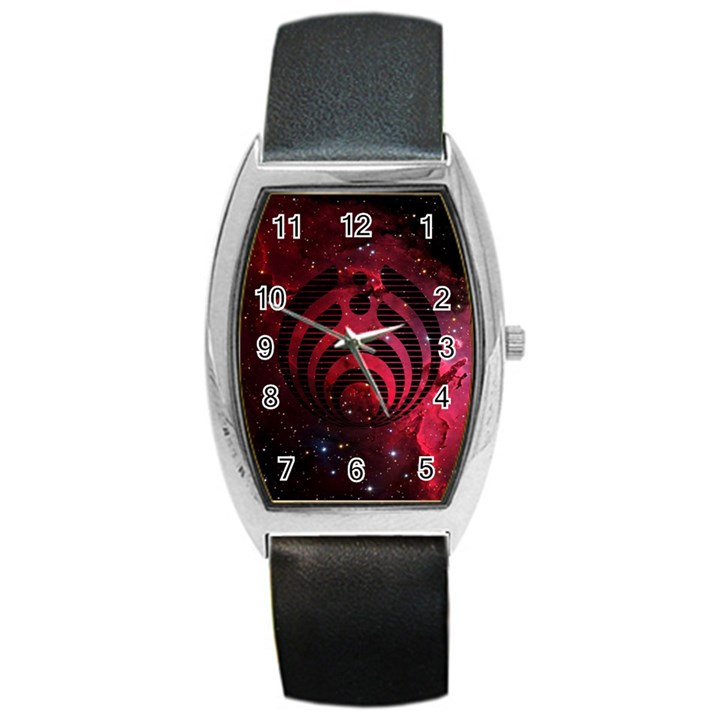 Bassnectar Galaxy Nebula Barrel Style Metal Watch