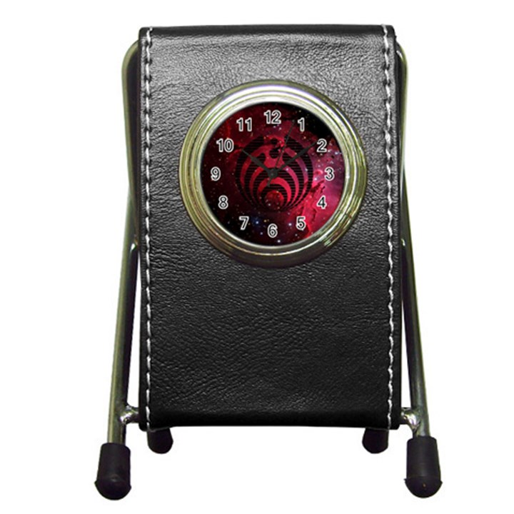 Bassnectar Galaxy Nebula Pen Holder Desk Clocks