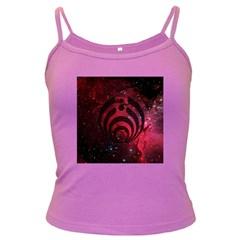 Bassnectar Galaxy Nebula Dark Spaghetti Tank