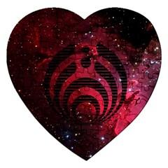 Bassnectar Galaxy Nebula Jigsaw Puzzle (Heart)