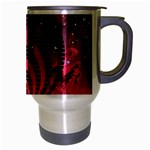 Bassnectar Galaxy Nebula Travel Mug (Silver Gray) Right