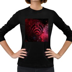 Bassnectar Galaxy Nebula Women s Long Sleeve Dark T-Shirts