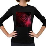 Bassnectar Galaxy Nebula Women s Long Sleeve Dark T-Shirts Front