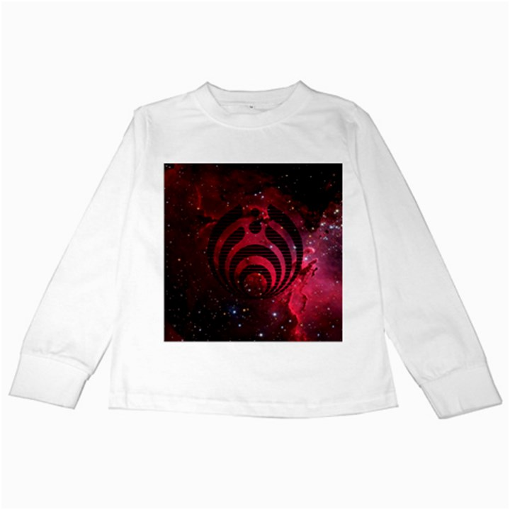 Bassnectar Galaxy Nebula Kids Long Sleeve T-Shirts