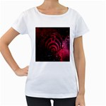 Bassnectar Galaxy Nebula Women s Loose-Fit T-Shirt (White) Front