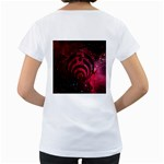 Bassnectar Galaxy Nebula Women s Loose-Fit T-Shirt (White) Back
