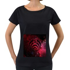 Bassnectar Galaxy Nebula Women s Loose-Fit T-Shirt (Black)