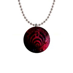 Bassnectar Galaxy Nebula Button Necklaces