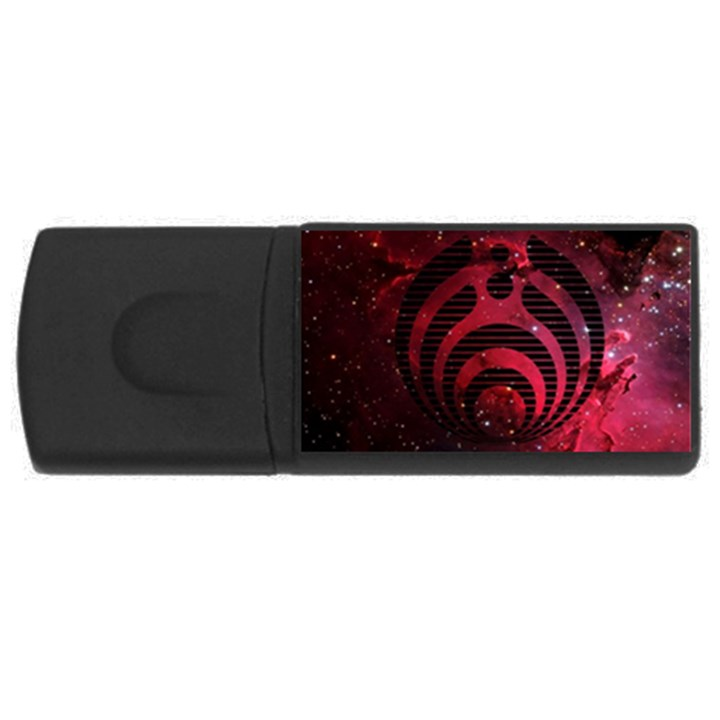 Bassnectar Galaxy Nebula USB Flash Drive Rectangular (4 GB)
