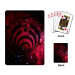 Bassnectar Galaxy Nebula Playing Card Back