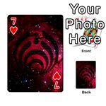 Bassnectar Galaxy Nebula Playing Cards 54 Designs  Front - Heart7
