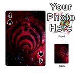 Bassnectar Galaxy Nebula Playing Cards 54 Designs  Front - Spade4