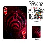 Bassnectar Galaxy Nebula Playing Cards 54 Designs  Front - HeartA