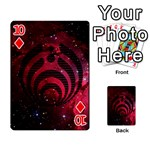 Bassnectar Galaxy Nebula Playing Cards 54 Designs  Front - Diamond10