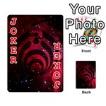 Bassnectar Galaxy Nebula Playing Cards 54 Designs  Front - Joker2