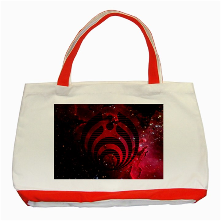 Bassnectar Galaxy Nebula Classic Tote Bag (Red)