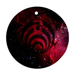 Bassnectar Galaxy Nebula Round Ornament (Two Sides)