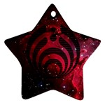 Bassnectar Galaxy Nebula Star Ornament (Two Sides)  Front