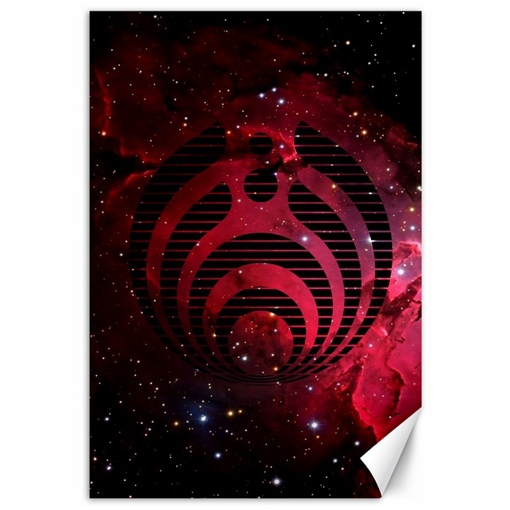 Bassnectar Galaxy Nebula Canvas 12  x 18